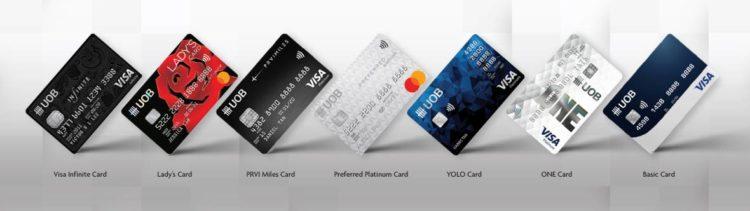 บัตรเครดิตยูโอบี UOB BANK