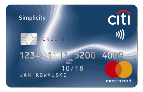 บัตรเครดิตซิตี้ ซิมพลิซิตี้