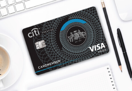 บัตรเครดิต ซิตี้เพรสทีจ